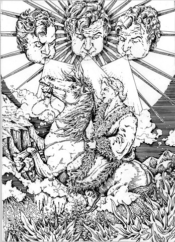 Horseman of Conquest (Print)