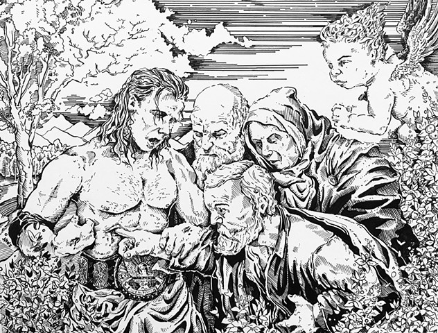 Wrestling is Real, Life is Fake (the doubting Thomas) Print