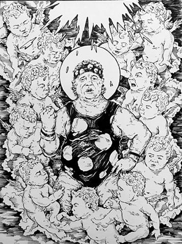 Dead Wrestler Paradise (Print)