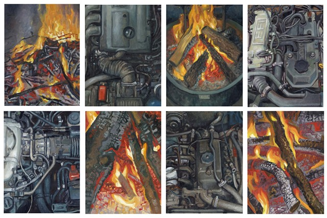 8 Studies if Fires and Engines