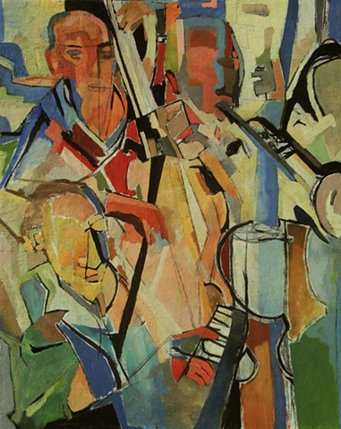 jazz, painting abstract