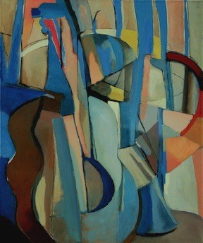 abstract, music, guitar