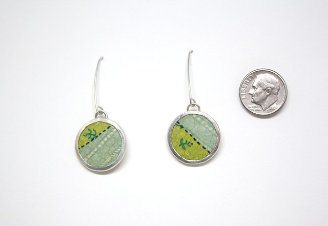 Tin Dangle Earrings