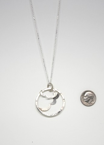 Wire Cloud Necklace