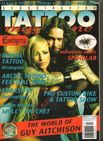 Scandinavian Tattoo Magazine 2006