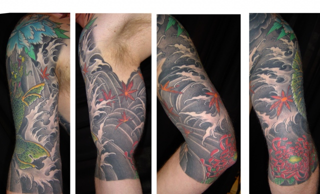 Dragon koi- Cover up 2