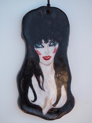 """Elvira Ornament"""