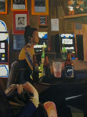 """Bar Room Girl"" Private Collection"