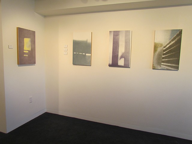 Installation shots at Siegal Gallery 2014