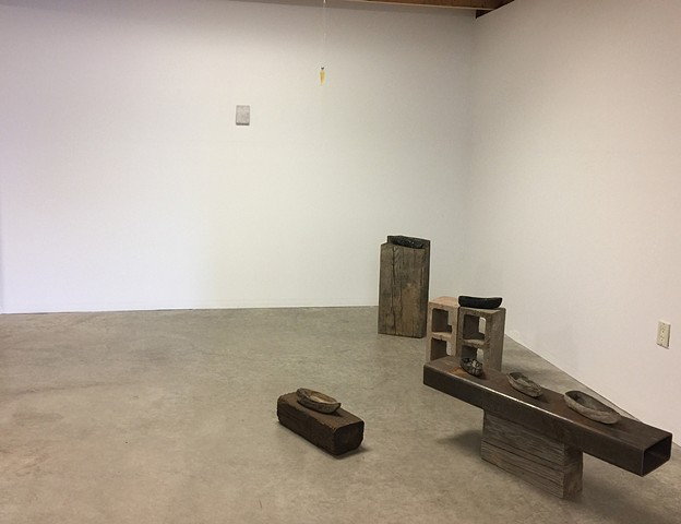 Exhibition view of Zeitbrechung Ilona Pachler at 5.Gallery 2018