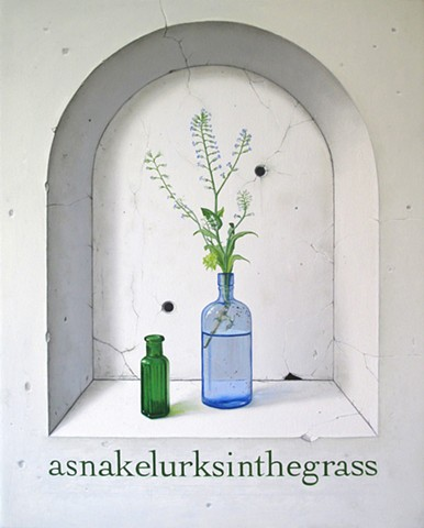 asnakelurksinthegrass