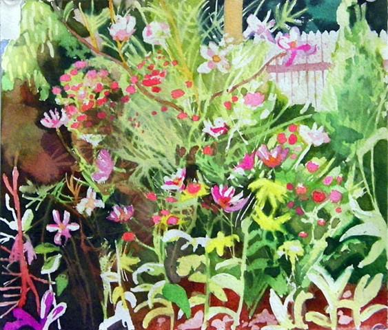 Study of my mothers garden #4