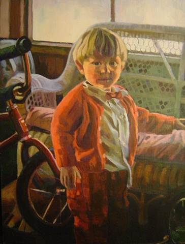Portrait of Neal as a child