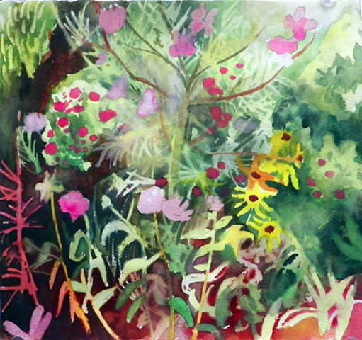 Study of my mothers garden #3