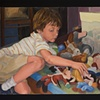 aiden and the stuffed animals