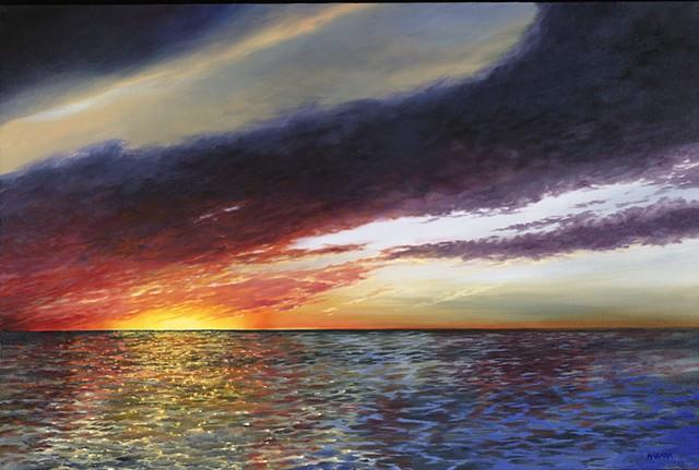 Confetti Sunset