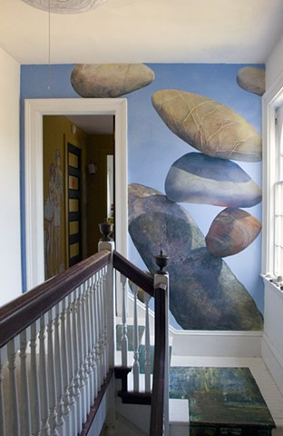 Beautiful Chappaquiddick home wall mural