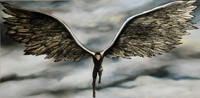 dark angel, angel,