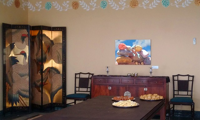 Embassy dining room in Kathmandu, Nepal