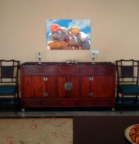 Dining Room in US Embassy in Kathmandu, Nepal