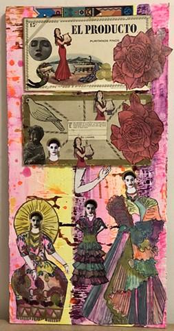 """jenniferbeinhacker.com """"self taught"""" """"mixed media"""" """"acrylic paint"""" """"metallic paint"""" """"silk cloth paint"""" """"art on wood"""" collage women """"deconstructed cigar box"""" letraset, """"folk art"""" """"deviant art"""" """"modern art"""" """"contemporary art"""" """"primitive art"""" """"outsider art"""""""