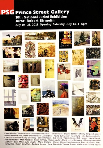 "jenniferbeinhacker.com ""self taught"" ""art show"" ""new york"" ""acrylic painting"" ""prince street gallery"" gallery ""juried art show"""