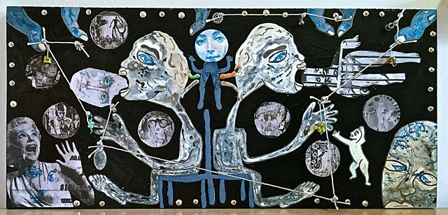 "jenniferbeinhacker.com ""self taught"" ""acrylic painting"" ""mixed media"" collage ""outsider art"" ""visionary art"" ""art naif"" ""naive art"" ""raw art"" ""art brut"" ""modern art"" ""contemporary art"" ""deviant art"" ""primitive art"" ""folk art"" ""art on wood"" woman women man"