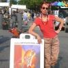 jennifer showing at art festival in alexandria va