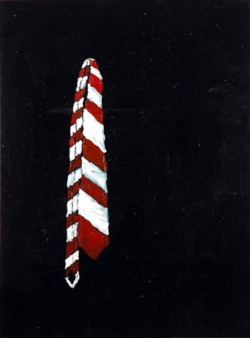 Everybody Wants To Be Caesar (Self-Portrait in Stripes) 2008