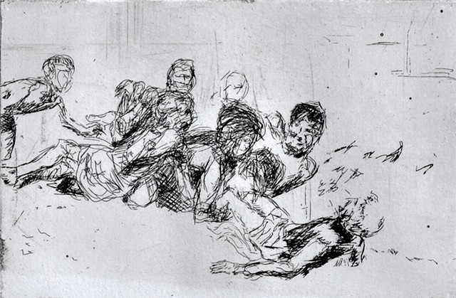 Brother V (Study for Deposition)