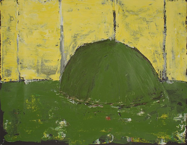 Mound XIV (Grass Is Greener or The Folly Of Walls)