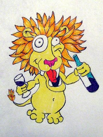 Drunk Lion
