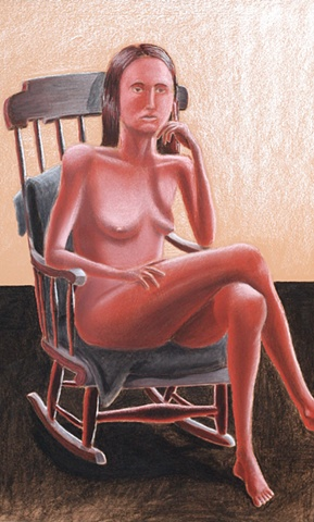 Lady in Rocking Chair
