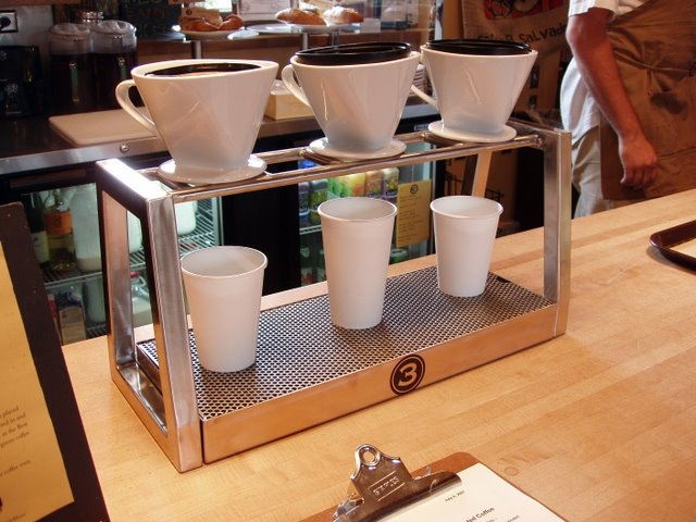 3 Cups Cone Drip Station