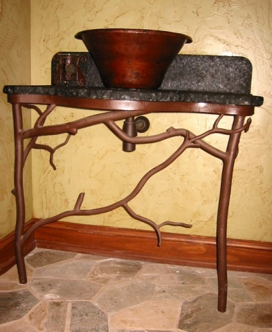 Forged Steel Sink Base