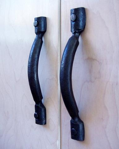 Forged Steel Door Handles
