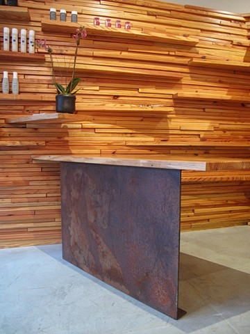 Arrow Studio Reception Desk