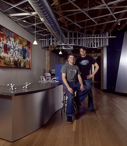 Dameon Guess & Jacob Edwards, Co-founders of Jakprints, Inc., Cleveland, Ohio