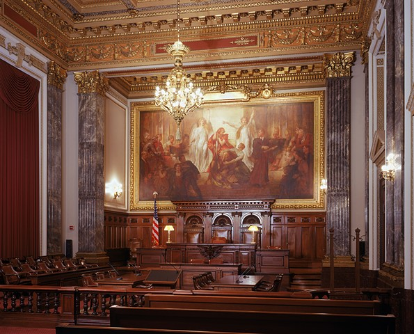 East Ceremonial Courtroom, Howard M. Metzenbaum United States Courthouse, Cleveland, Ohio