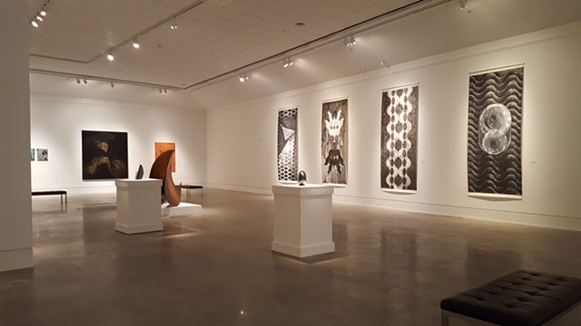 """Houston Artists: Gestural and Geometric Abstraction"""