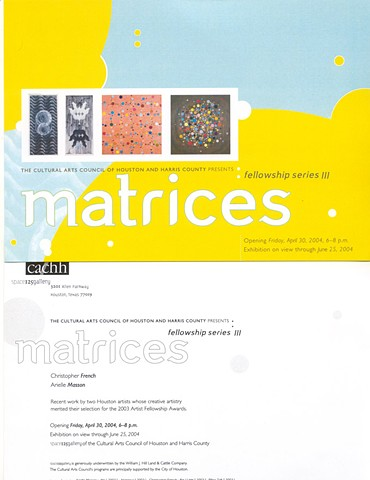 Matrices Exhibition- 2004