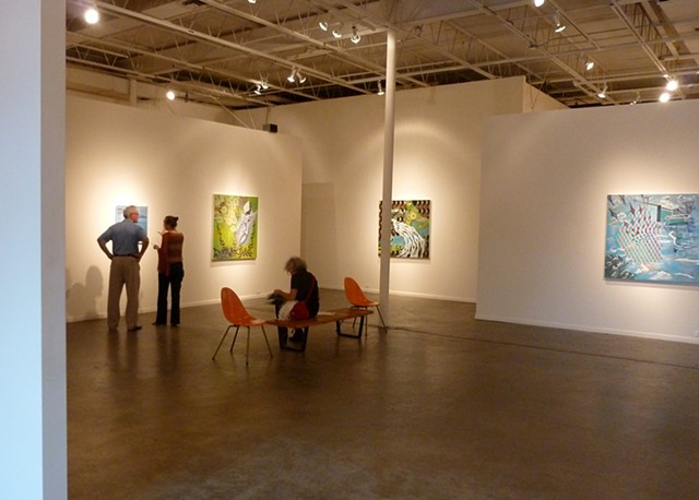 "Solo Exhibition ""The future is not what it used to be"", New Gallery, Houston, Texas 2011."