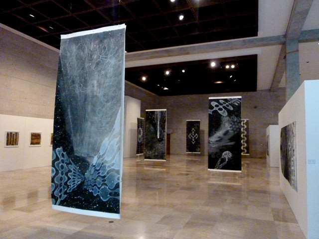 Crónicas de la Tierra (Earth Chronicles) Solo exhibition at the Museum of Anthropology in Xalapa, Veracruz, Mexico.