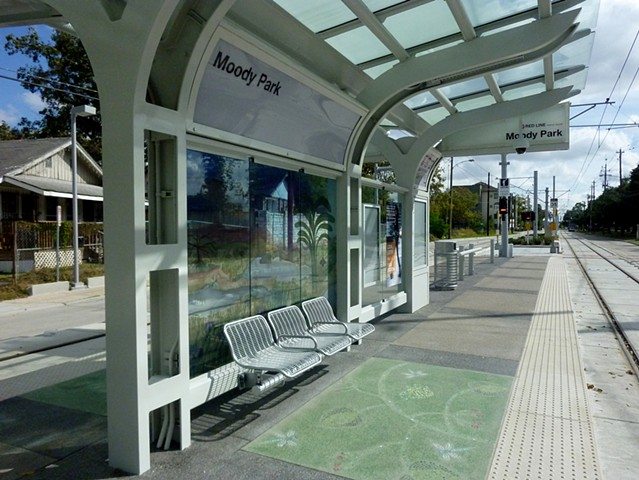 METRO - Light Rail Transit - Designs for Metro Stations - Houston, Texas.