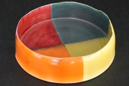 High fired Porcelain, wheel-thrown vessel