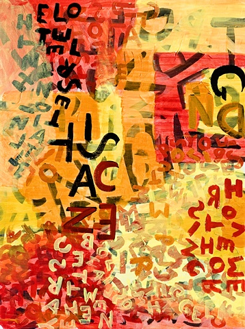 Automatic Writing in art