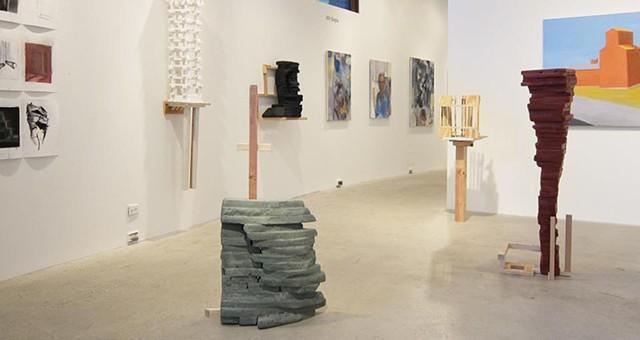 Installation, Dreitzer Gallery, Brandeis University