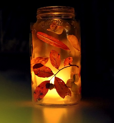Fall Leaf Lantern Guided Project