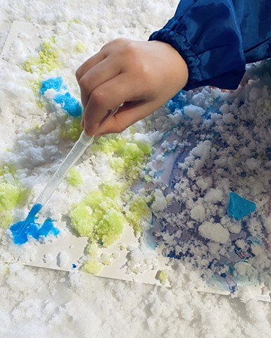 Painting With Snow