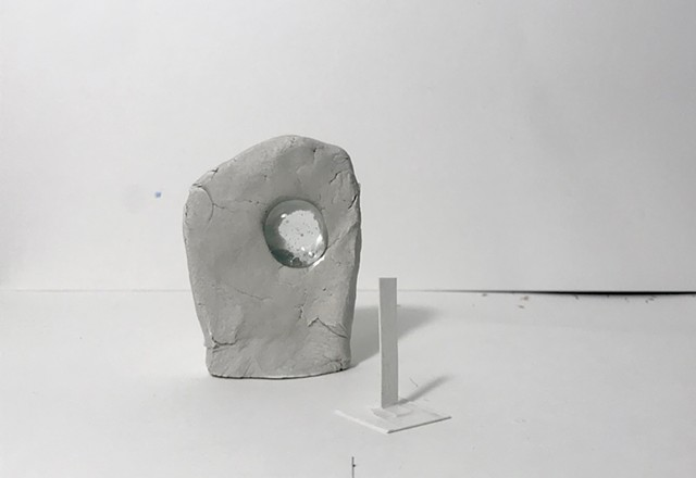 Monsters and Ghosts - sculpture study